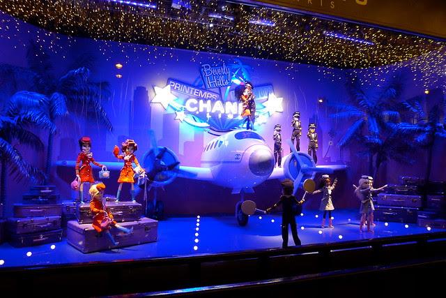 Le Printemps - vitrines de Noël 2011