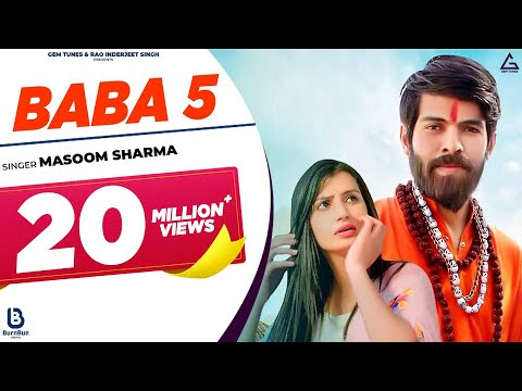BABA 5 NEW SONG    Masoom Sharma    Nidhi Sharma    NEW HARYANVI SONG 2020