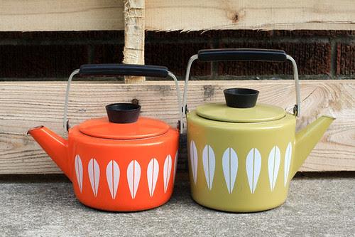 Cathrineholm Tea Pots by jenib320