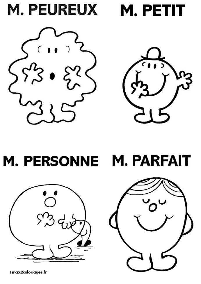 101 Dessins De Coloriage Monsieur Madame à Imprimer Sur Laguerche