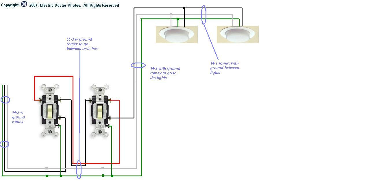 3 Way Wiring Diagram Multiple Lights