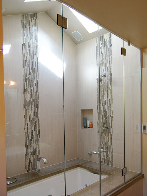 Vertical Accent Tile Home Design Ideas, Pictures, Remodel ...
