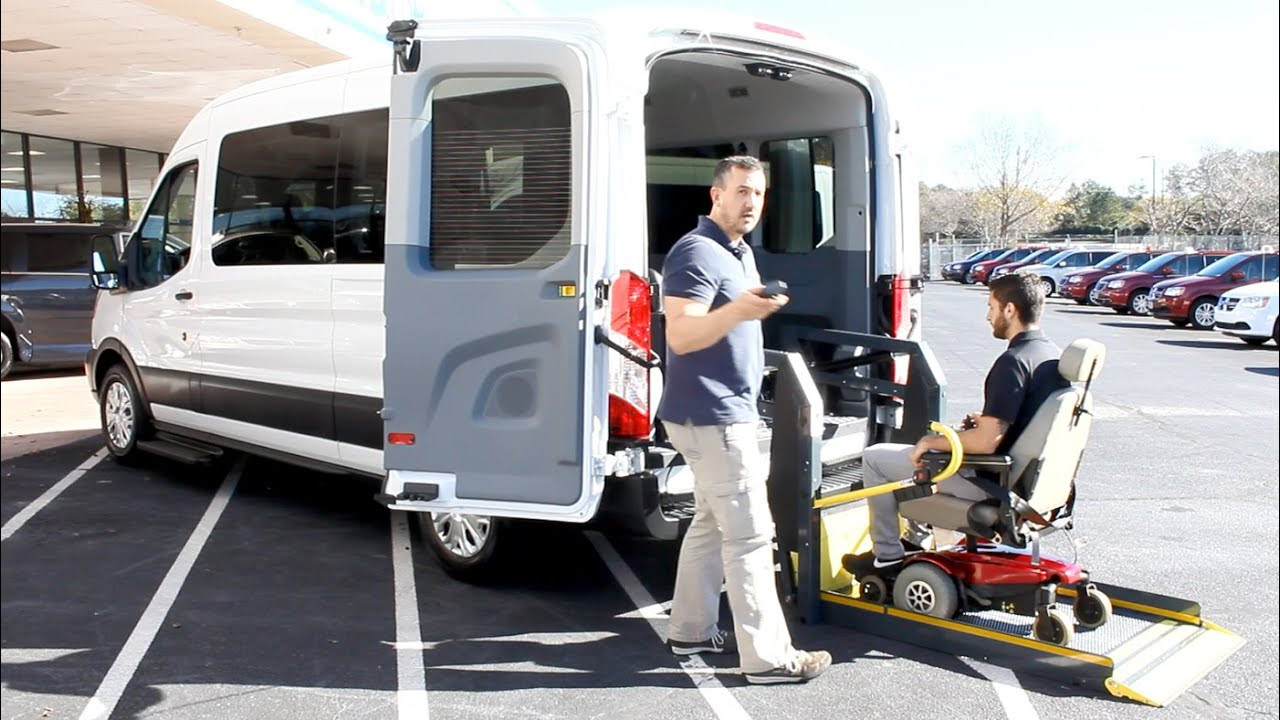 Ford Transit Wheelchair Accessible Customizable Side