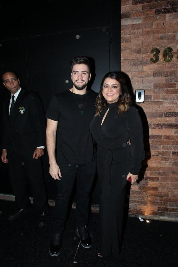 Preta Gil e o marido Rodrigo Godoy (Foto: AG News)