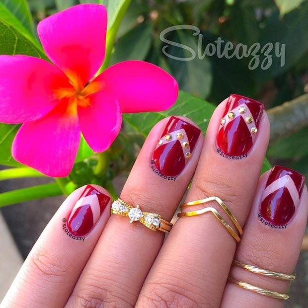 66 Nail Art Ideas For Short Nails Pretty Designs