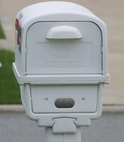 """MailboxHatMan"" photo by Carol"