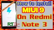 hard reset iphone Xiaomi Mi Note 3 - How to Install MIUI 9 OS - Android 6 0 - Redmi Note 3 MIUI 9.5
