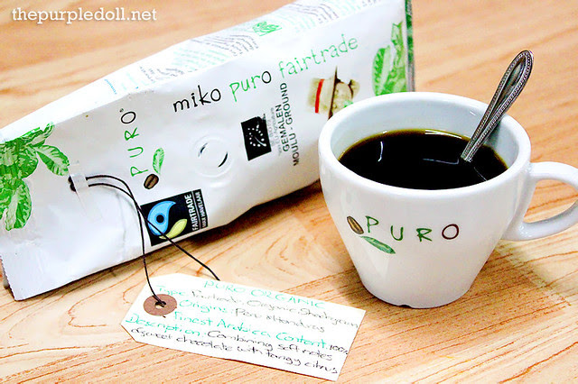 Puro Fairtrade Coffee Puro Organic