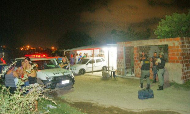 Crime ocorreu na frente da Casa Onde a Vítima morava nenhum bairro Inocoop / Foto: Divulgação / Blog do Adielson Galvão.