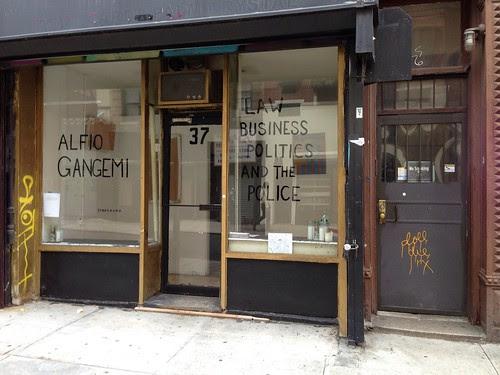 Empty Gallery, Lower East Side