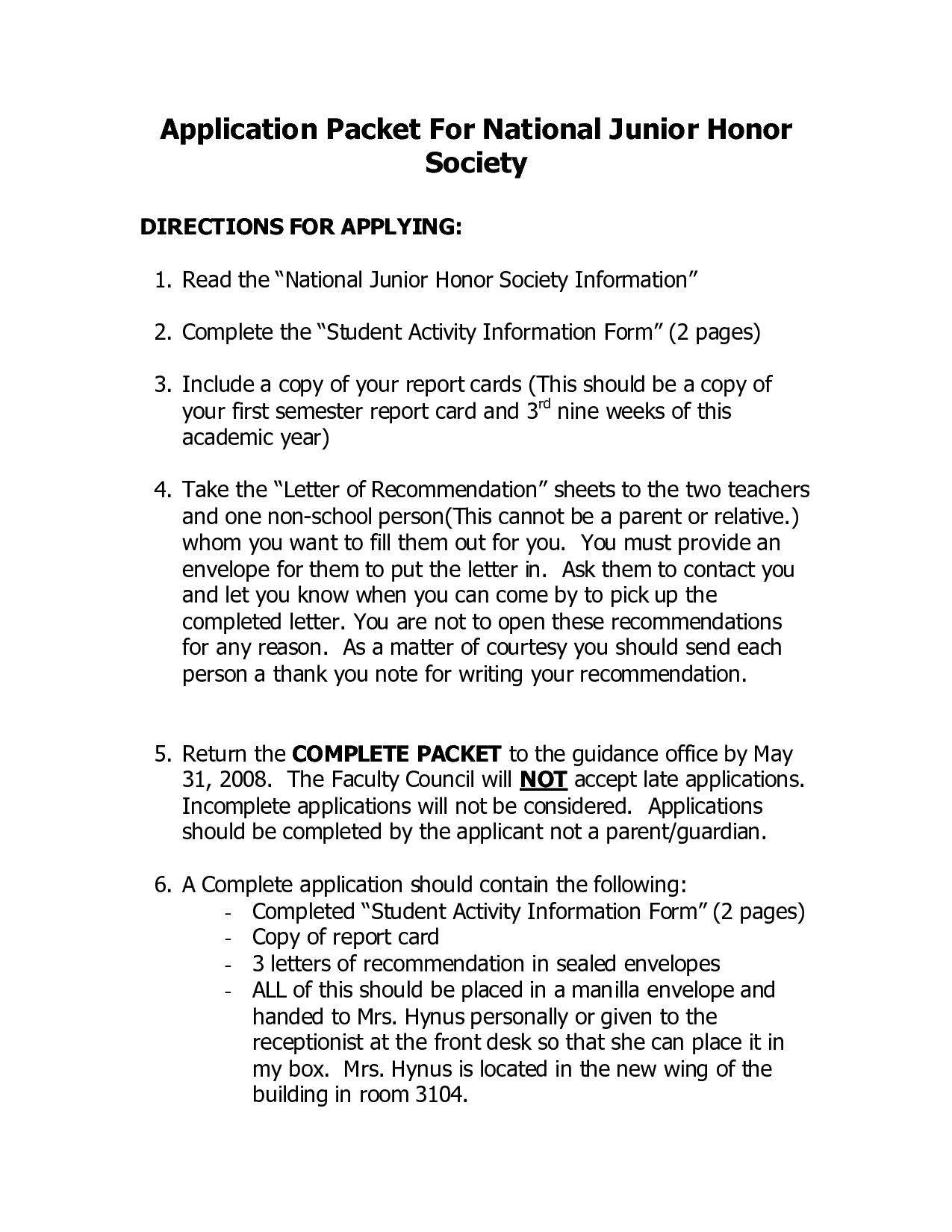 national junior honor society essay help