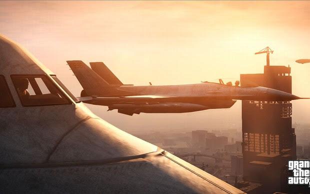 GTA 5 contará com perseguições aéreas (Foto: Divulgação) (Foto: GTA 5 contará com perseguições aéreas (Foto: Divulgação))