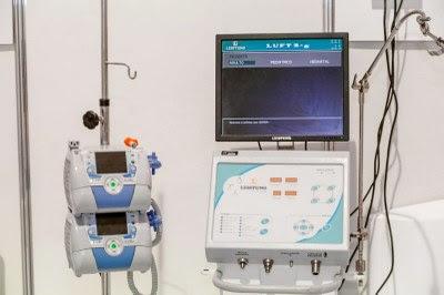 Imagem de um equipamento de hospital