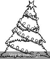 Sapin De Noel Coloriage De Sapins Noël à Imprimer Touptycom