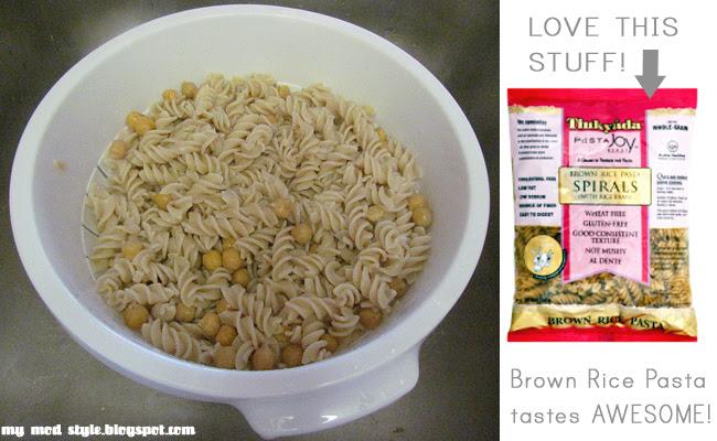 Whole Food Recipe: Brown Rice Pasta