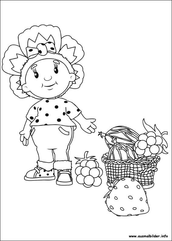 Fifi and the Flowertots malvorlagen