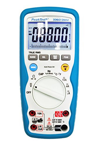 Best Quality Electrical Multimeters Peaktech 3360 Professional