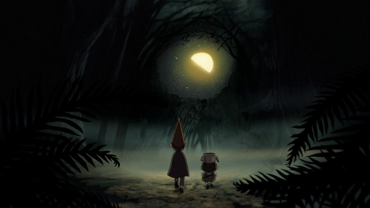 Art Beautiful Cartoon Night Cartoon Network Fall Animation