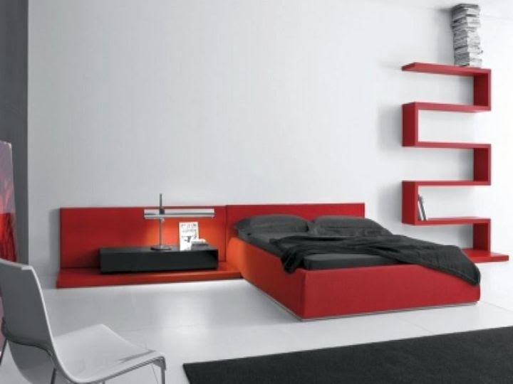18 Stunning Black and Red Bedroom Ideas