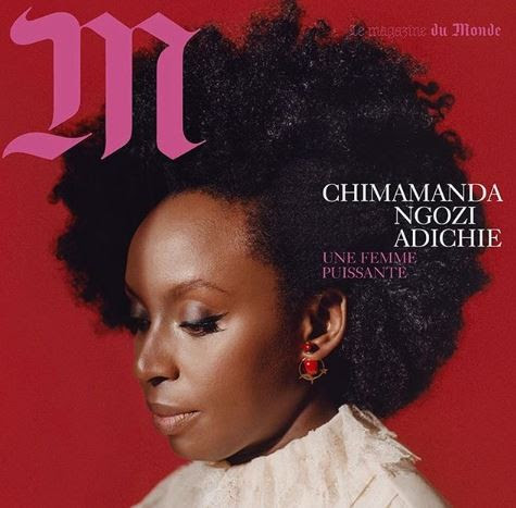 Chimamanda Adichie Covers French Magazine 'M-Lemonde' (Photos)
