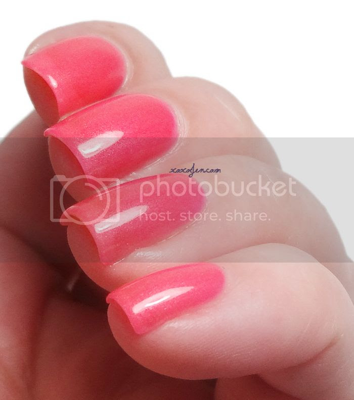 xoxoJen's swatch of Sweet Heart Polish Amped