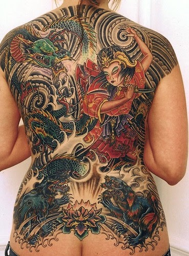 Image Result For Bird Tattoo Back Woman