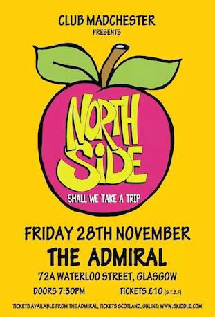 Northside Live at the Admiral, Glasgow, 28 November 2014