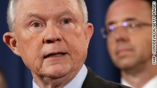 Who's in charge of the Justice Department if Sessions goes?