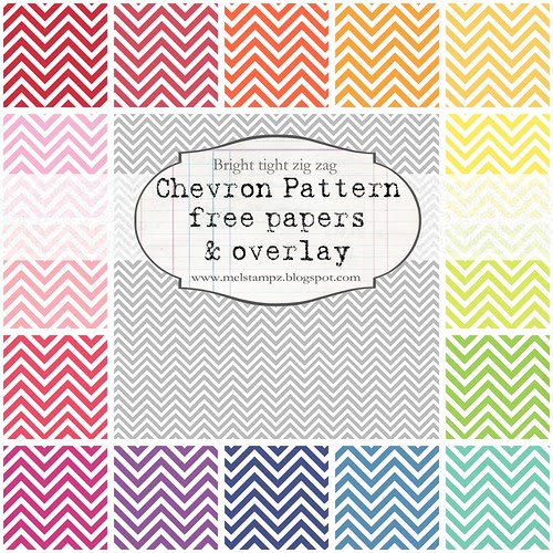 PREVIEW chevron tight zig zag bright melstampz