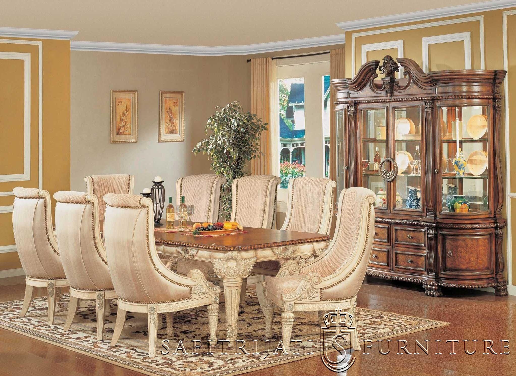 Kursi Makan Klasik Jepara Terbaru Safitri Jati Furniture