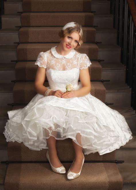 Best Short Wedding Dresses for 2019   Petticoat Pond