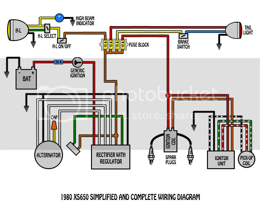 Yamaha Xs650 Wiring Diagram - Wiring Diagram