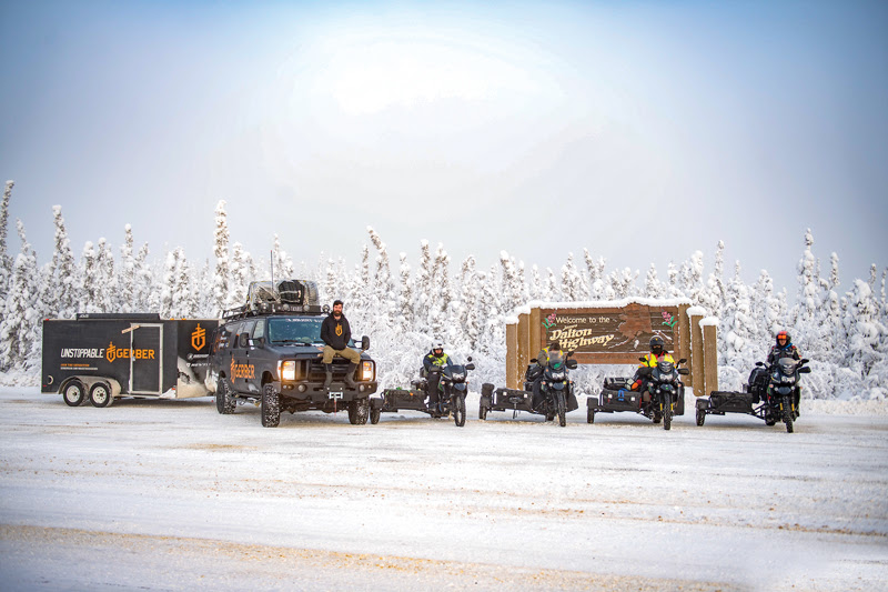 Alaska's Dalton Highway is the first major obstacle in a north-to-south Pan-American motorcycle journey.