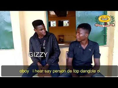 Nigerian shatta bandle (comicscomedy)