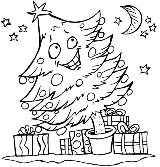 Coloriage Poésie De Noël Le Sapin De Noël Coloriage Poésie De Noël