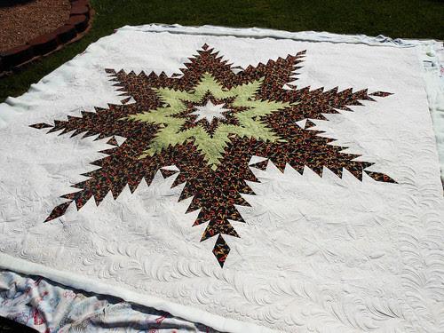 Montana Feather Star Quilt