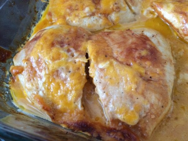 Easy Cheesy BBQ Ranch Chicken Bake - Lou Lou Girls - HMLP 96 - Feature