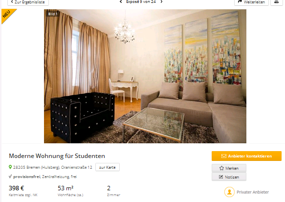 martinrallph moderne wohnung f r studenten 28205 bremen. Black Bedroom Furniture Sets. Home Design Ideas