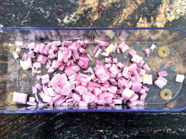 Two Shallots, Finely Diced
