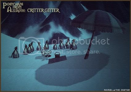 Postcards of Azeroth: Critter Gitter, by Rioriel Ail'thera