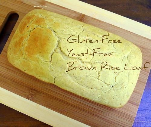 Gluten-Free Brown Rice Sandwich Loaf by sherimiya ♥
