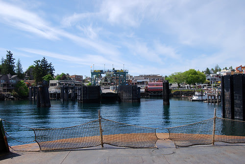 SR 20 north @ Friday Harbor Dock
