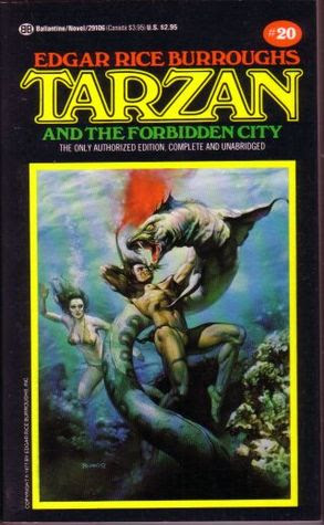 Tarzan and the Forbidden City (Tarzan, #20)