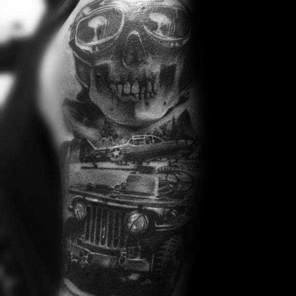 Desenhos de tatuagem Jeep Ideas For Men