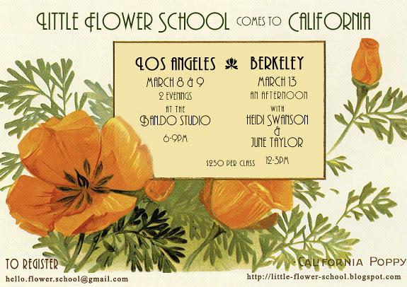 Flower School California