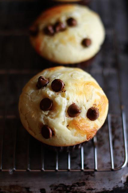 Muffin Coklat Keju - Choco Chips & Cheese Muffins