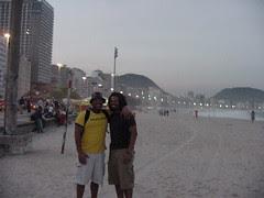 John & Curtis in Rio