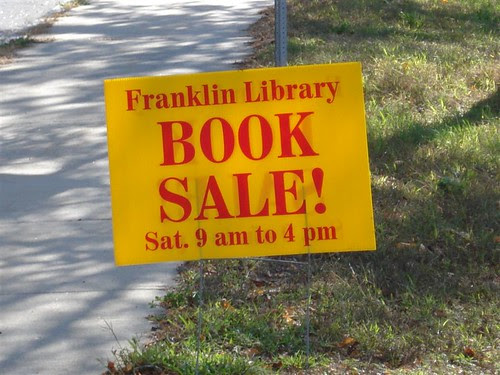 Franklin: Library Book Sale 10/20/07