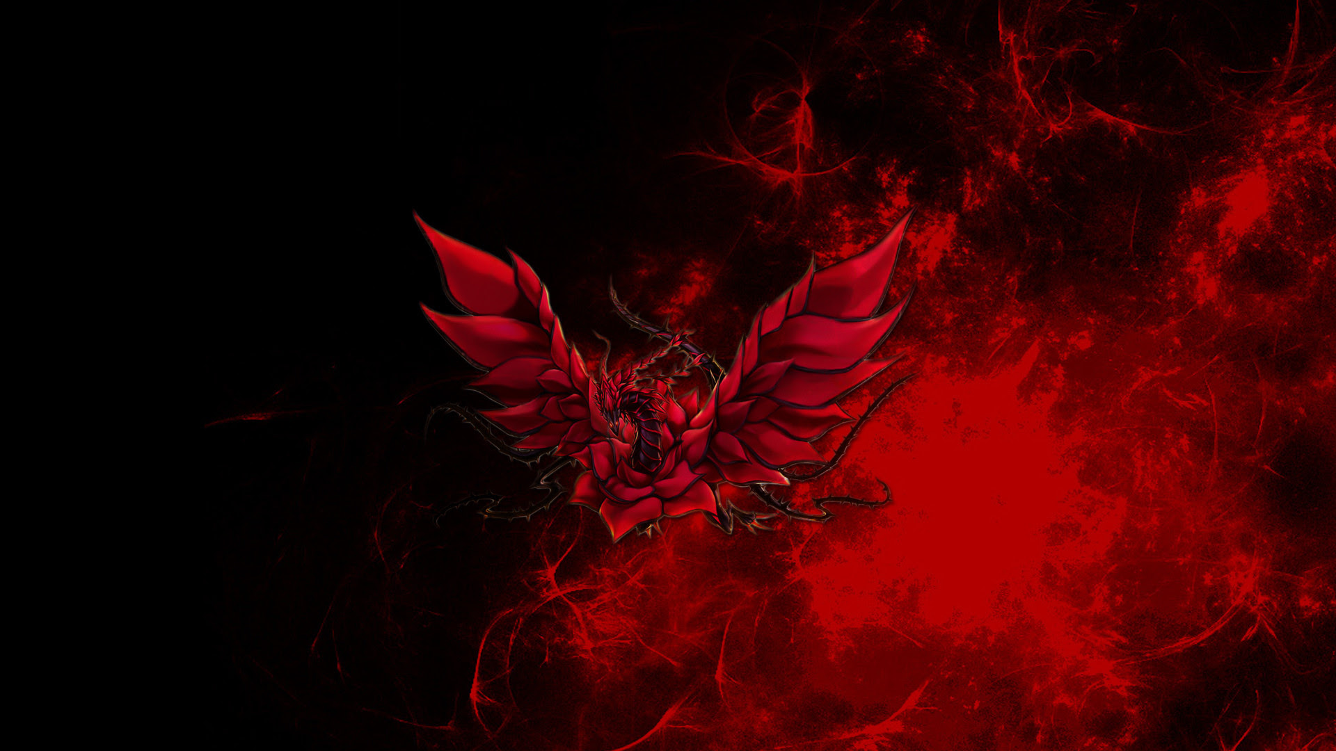 Red And Black Dragon Wallpaper 64 Images