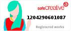 Safe Creative #1204290601087